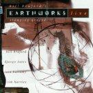 bill bruford - earthworks live stamping ground CD 1994 virgin 9 tracks used mint