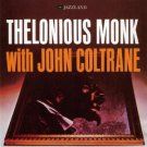 thelonious monk with john coltrane hybrid stereo SACD DSD 2003 jazzland new