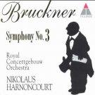 bruckner symphony no.3 - royal concertgebouw orch + harnoncourt CD 1995 teldec