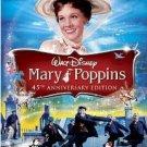 mary poppins - 45th anniversary edition DVD 2009 walt disney new