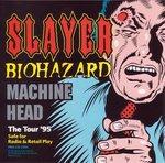 slayer biohazard machine head - the tour '95 CD 1994 american recordings 9 tracks used mint
