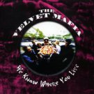 velvet mafia - we know where you live CD 1998 trip records 13 tracks used mint