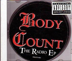 body count - radio ep CD 1990 warner 5 tracks used mint
