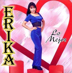 erika - lo mejor CD 1999 wea latina 12 tracks used mint