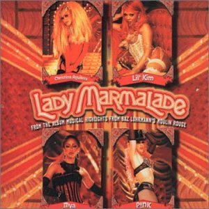 lady marmalade from moulin rouge - christina aguilera lil kim mya & pink CD single 2001 interscope