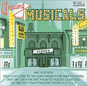 unsung musicals - various artists CD 1994 varese sarabande 15 tracks used mint