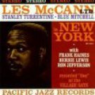 les mccann LTD in new york CD 1989 capitol pacific jazz 8 tracks new
