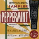 peppermint sampler volume 2 - various artists CD 19 tracks used mint