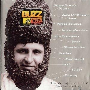 MTV buzz bin volume 1 - various artists CD 1996 atlantic mammoth 12 tracks used mint