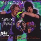 opie & anthony's demented world CD 1997 SAR restaurant 31 tracks used mint