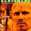 screamers - peter weller & roy dupuis DVD 1998 sony used mint
