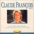 claude francois - volume 2 gold CD 1997 sony versailles 15 tracks used mint