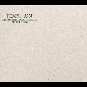 pearl jam - greensboro north carolina august 6 2000 CD 2-discs used