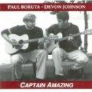 paul boruta & devon johnson - captain amazing CD 10 tracks used mint