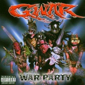 gwar - war party CD 2004 DRT 11 tracks used mint