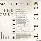 the cult - the white ep CD 1991 1992 beggars banquet polygram 4 tracks used mint
