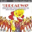 best of broadway - erich kunzel + rochester pops CD 1986 intersound 12 tracks used