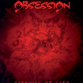 obsession - carnival of lies CD 2006 metal mayhem 12 tracks used mint