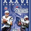 Super Bowl XXXVI - New England Patriots Championship Video DVD USA Video 2002 used mint