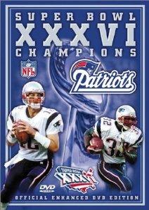 Super Bowl XXXVI - New England Patriots Championship Video DVD USA Video 2002 used mint