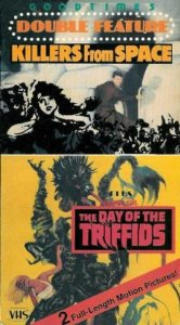 killers from space + day of the triffids VHS 1986 goodtimes used mint