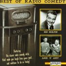 best of radio comedy - red skelton + amos n andy CD 1995 delta used mint
