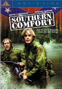 southern comfort - keith carradine + powers boothe DVD 2001 MGM 105 mins used mint