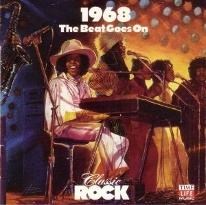 classic rock 1968 - various artists CD time life warner 22 tracks used mint