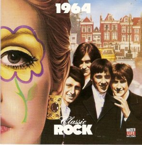 classic rock 1964 - various artists CD 1987 time life warner 25 tracks used mint
