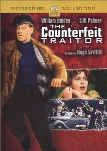 counterfeit traitor - william holden + lilli palmer DVD 2004 paramount used mint