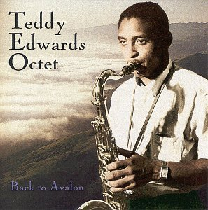 teddy edwards octat - back to avalon CD 1995 contemporary fantasy 9 tracks used mint