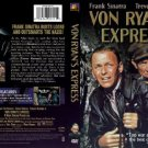 von ryan's express - frank sinatra + trevor howard DVD 1987 20th century fox used mint