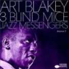 art blakey & jazz messengers - 3 blind mice volume 2 CD 1990 blue note 5 tracks used mint