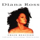diana ross - chain reaction CD 1999 disky 14 tracks used mint