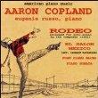 aaron copland - rodeo + el salon mexico - eugenie russo, piano CD 1995 campion used