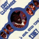 eddy clearwater - a real good time live! CD 1990 rooster blues 13 tracks used mint