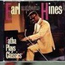 earl hines - fatha plays classics CD jazz life 8 tracks used mint