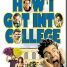 how i got into college - anthony edwards + corey parker DVD 2004 used mint