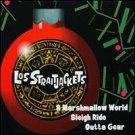 los straitjackets - a marshmalow world / sleigh ride / outta gear CD single 1996 upstart