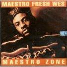 maestro fresh wes - maestro zone CD 1992 polygram 13 tracks used