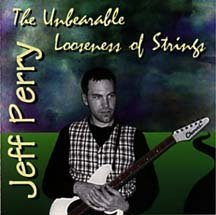 jeff perry - unbearable loneliness of strings CD 1996 loose strings 9 tracks used mint