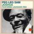 peg leg sam - joshua featuring louisiana red CD 1989 tomato 10 tracks used