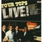 four tops - four tops live! CD 1966 motown 14 tracks used mint