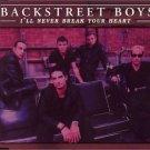 bakstreet boys - i'll never break your heart CD 1998 zomba jive 5 tracks used mint