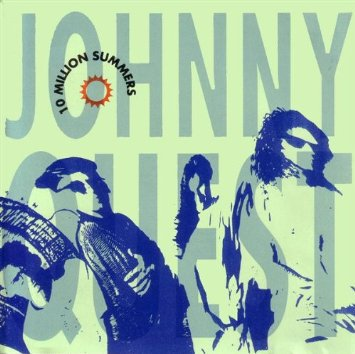 johnny quest - 10 million summers CD 1992 blue dude sony 13 tracks used mint