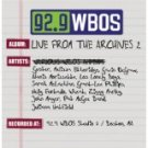 92.9 WBOS live from the archives 2 - various artists CD 2004 rounder 13 tracks