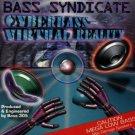bass syndicate - cyberbass virtual reality CD 1993 DM recirds 12 tracks used mint
