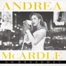 andrea mcardle - on broadway CD 1995 magic venture recording studio 12 tracks used mint