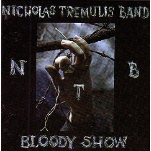 nicholas tremulis - bloody show CD 1996 black vinyl 16 tracks used mint