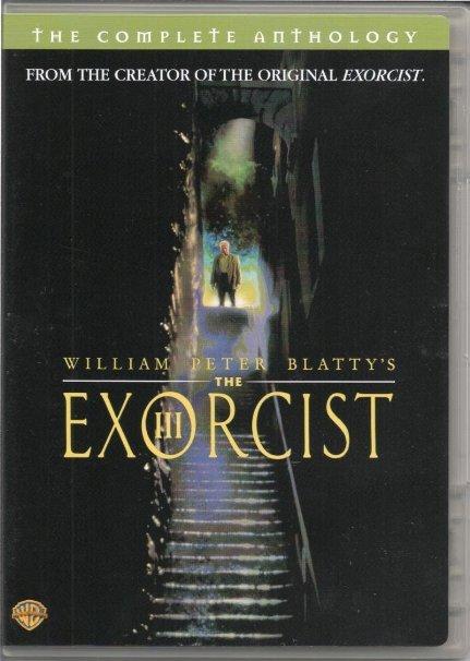 william peter blatty's exorcist III complete anthology - george c scott DVD warner used mint